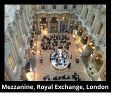 Mezzanine, Royal Exchange, London